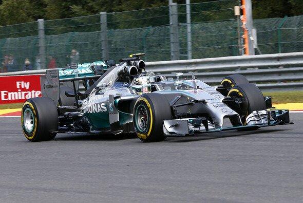 Lewis Hamilton verteidigte seine Führung