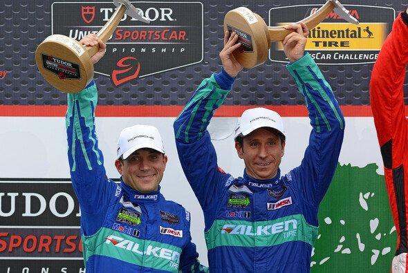 Henzler und Sellers fuhren auf Platz zwei - Foto: Porsche