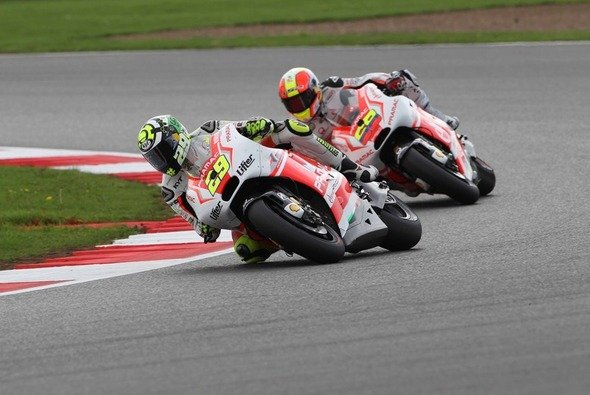 Andrea Iannone brachte trotz Reifenproblemen Rang acht ins Ziel - Foto: Pramac