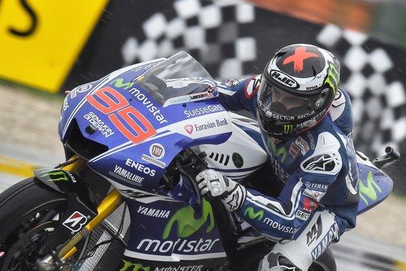 Jorge Lorenzo behielt im Regenkrimi die Nerven - Foto: Movistar Yamaha MotoGP