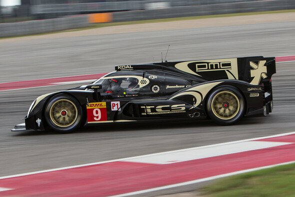 Lucas Auer war mit Lotus in Austin unterwegs - Foto: Adrenal Media