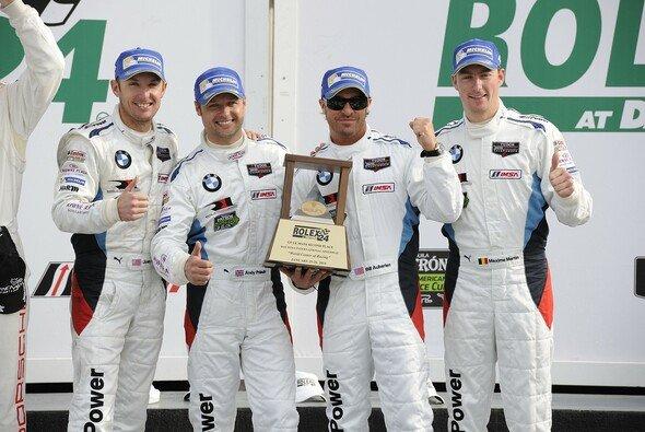 In Daytona holte BMW gleich das erste Podium - Foto: BMW