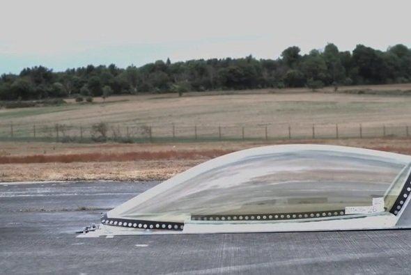 Eine Cockpithaube wurde bereits getestet - mit durchwachsenen Resultaten - Foto: youtube/FIA Institute