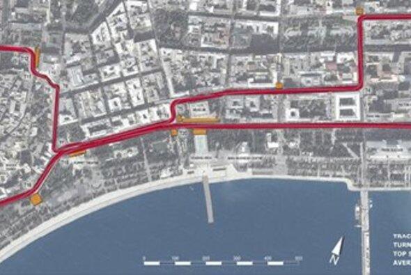 Formel 1 Baku Strecke