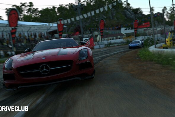 Viel Action in DRIVECLUB - Foto: PlayStation