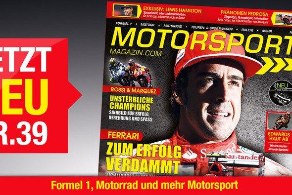 Das neue Motorsport-Magazin: Gleich holen! - Foto: Motorsport-Magazin.com