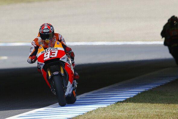 Marc Marquez verteidigt seinen Weltmeistertitel - Foto: Repsol Honda