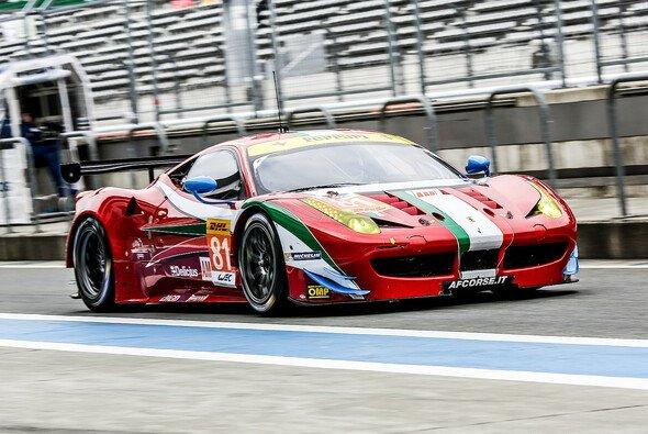 Die beiden GTE-Am-Ferrari von AF Corse fehlen in Shanghai - Foto: Adrenal Media