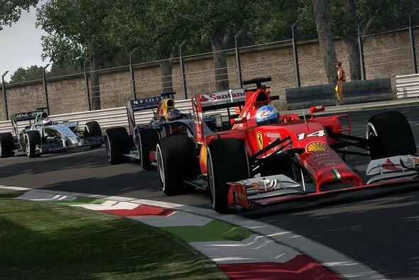Die F1-Stars geben auch auf dem Bildschirm Gas - Foto: Codemasters