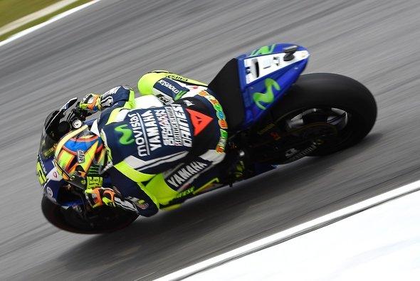 Valentino Rossi überraschte im Qualifying alle - Foto: Yamaha