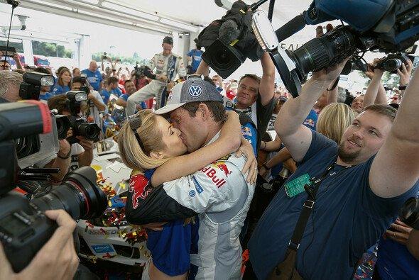 Andrea Kaiser und Sebastien Ogier sind seit 2014 verheiratet - Foto: Volkswagen Motorsport