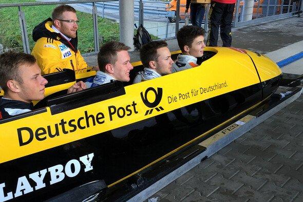 Maximilian Günther mit der Speed Academy am Königssee - Foto: adrivo Sportpresse GmbH