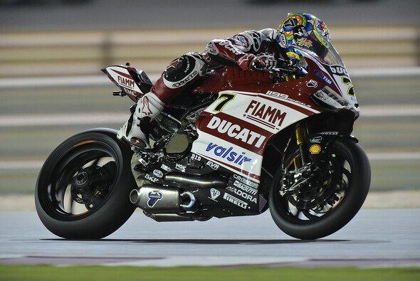 Chaz Davies hat sein Ziel erreicht, sucht aber noch nach Antworten - Foto: Ducati Superbike Team
