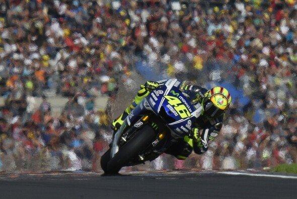Valentino Rossi beendete die Saison mit Rang zwei - Foto: Yamaha