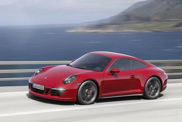 Der neue Porsche 911 GTS wird offiziell auf der Los Angles Auto Show 2014 vorgestellt - Foto: Porsche AG