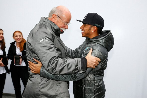 Daimer-Vorstandschef Dr. Dieter Zetsche liegt die Formel 1 am Herzen - seinem Nachfolger auch - Foto: Mercedes-Benz