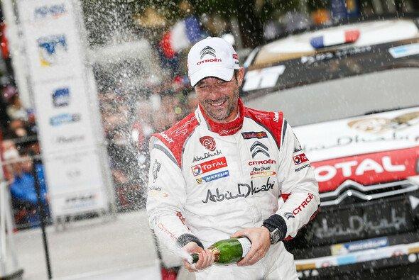 Sebastien Loeb setzt sich noch einmal hinters Steuer des Citroen DS3 WRC - Foto: Citroen