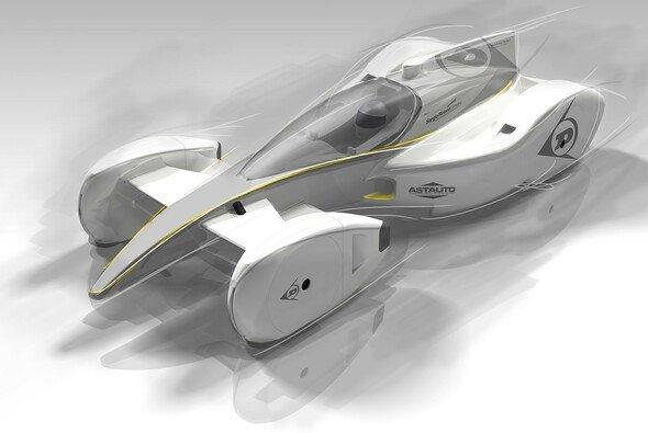 Das Auto der Zukunft vorgestellt von Dunlop - Foto: Dunlop