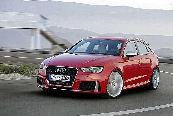 Die Höchstgeschwindigkeit des Audi RS3 konnte noch erhöht werde - Foto: Audi AG