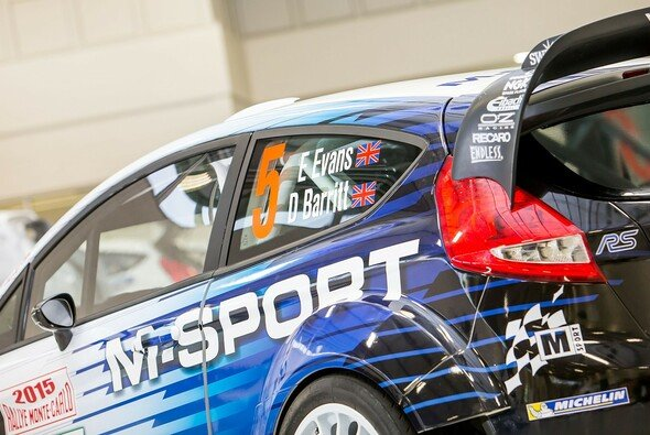 M-Sport setzt 2015 auf ein recht unerfahrenes Duo - Foto: M-Sport