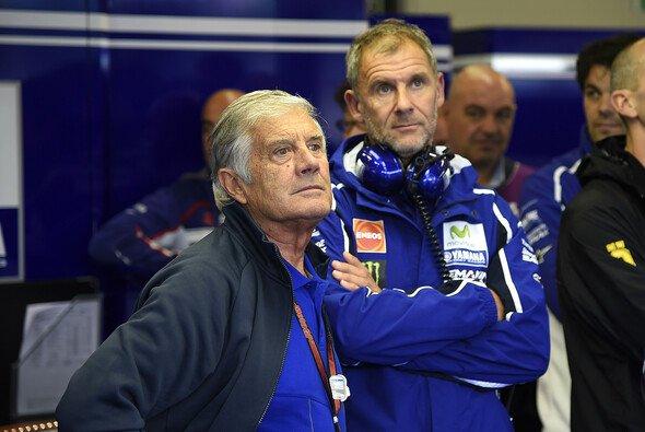Giacomo Agostini ist Stammgast in der Yamaha-Box - Foto: Yamaha