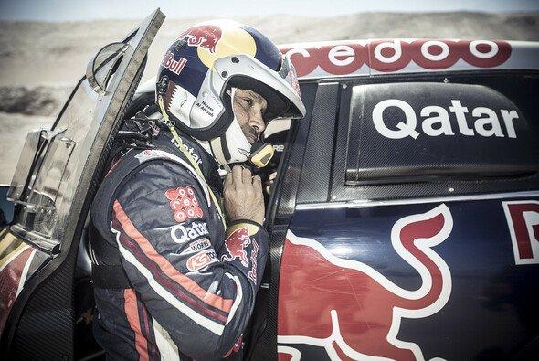 Unantastbar: Nasser Al-Attiyah dominiert bislang die Rallye Dakar - Foto: Red Bull