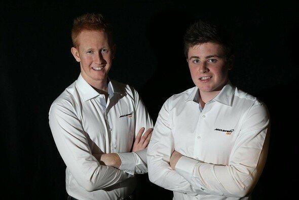 Ross Wylie und Andrew Watson sind ins McLaren-GT-Programm aufgenommen - Foto: McLaren