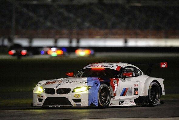 Bruno Spengler muss sich erst an das Fahren bei Nacht gewöhnen - Foto: BMW