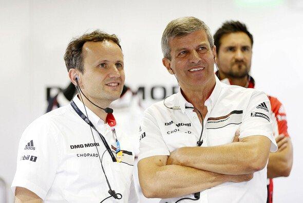 Alexander Hitzinger (links) verlässt das Unternehmen - Foto: Porsche