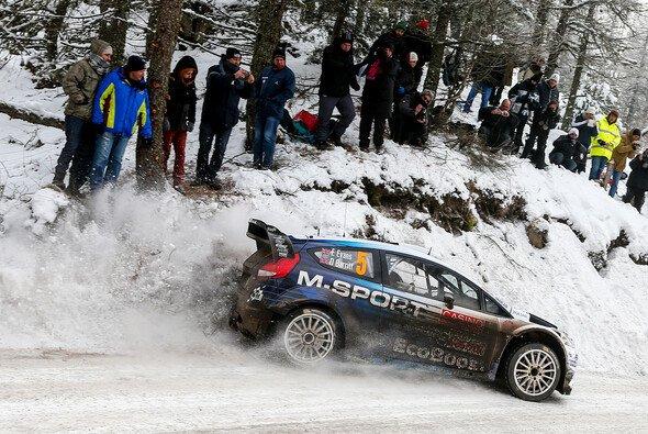 Elfyn Evans belegte bei der Rallye Monte Carlo Platz sieben - Foto: Ford