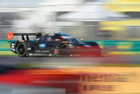 Aktuell an der Spitze: Der Corvette DP von Wayne Taylor Racing - Foto: IMSA