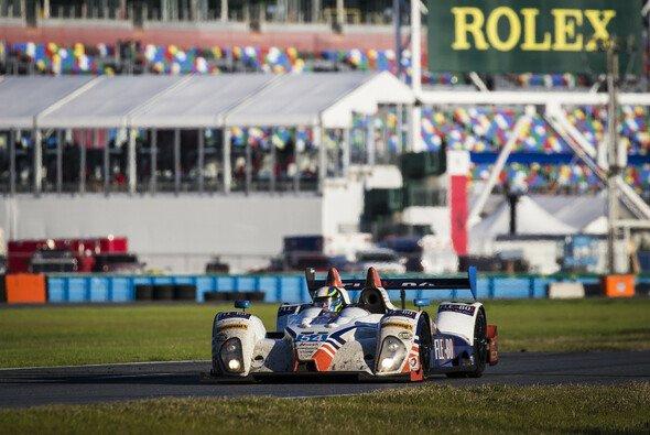 Kurz vor Schluss verunfallte Colin Braun im Autosport-Oreca in Führung liegend - Foto: Rolex