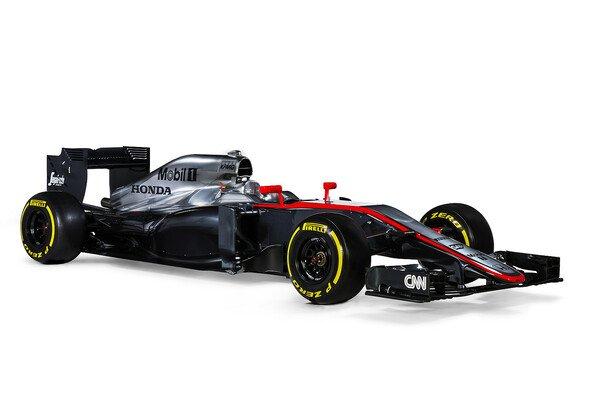 Der MP4-30 ist enthüllt - Foto: McLaren