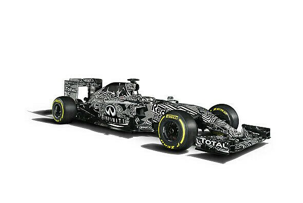 2015 fuhr Red Bull bei den Tests im Camouflage-Look - Foto: Red Bull