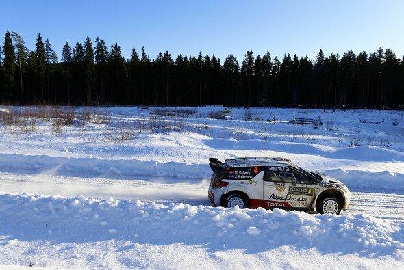 Auf Schnee und Eis erwies sich der DS3 WRC bereits als schnell - Foto: Citroen