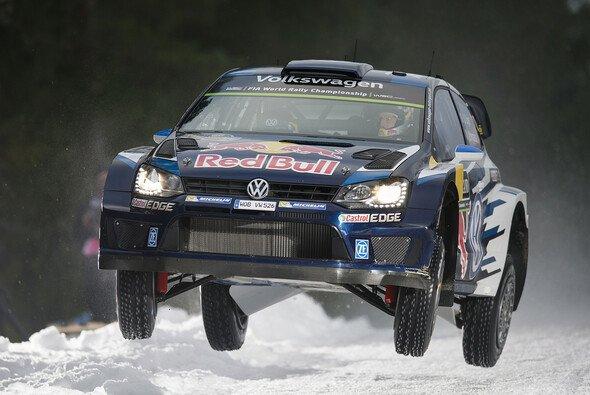 Sebastien Ogier gewann die Rallye Schweden in einem packenden Finale - Foto: Red Bull