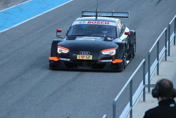 Mit dem Audi RS5 DTM Testträger war das Team in Portugal - Foto: Audi