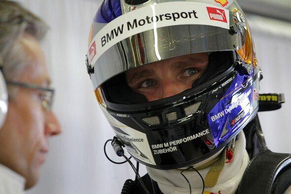 Tomczyk ist mit dem Test zufrieden - Foto: BMW