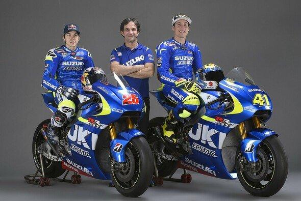 Suzuki fährt bei der Rückkehr in die MotoGP 2015 starke Geschütze auf - Foto: Suzuki
