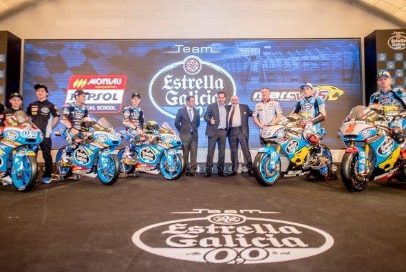 Marc VDS will gemeinsam mit Estrella Galicia durch WM-Klassen hinweg für Furore sorgen - Foto: Marc VDS Racing