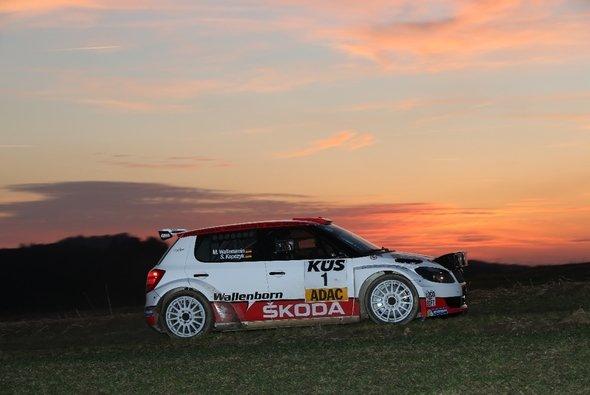 Die ADAC Saarland-Pfalz Rallye hatte für Mark Wallenwein gut begonnen - Foto: Sascha Dörrenbächer