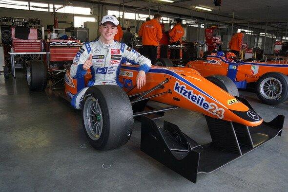 Maxi Günther gewann 2014 auf Anhieb die Deutsche Post Speed Academy - Foto: Mücke Motorsport