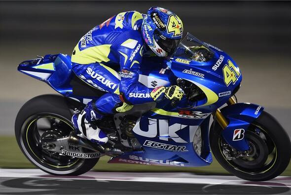 Aleix Espargaro gelang am Katar-Sonntag keine Verbesserung - Foto: Suzuki