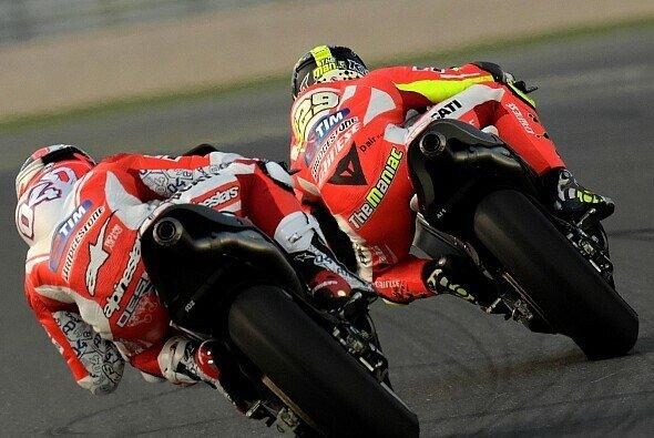 In Katar zeigte Ducati erstmals 2015 groß auf - Foto: Ducati