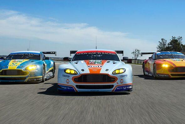 Großangriff: Aston Martin fährt 2015 ein massives Engagement - Foto: Aston Martin