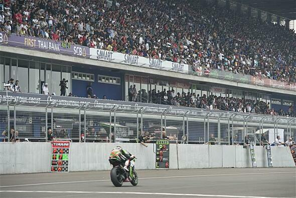 Schon seit 2015 fährt die Superbike-WM in Thailand - vor vollem Haus - Foto: Kawasaki