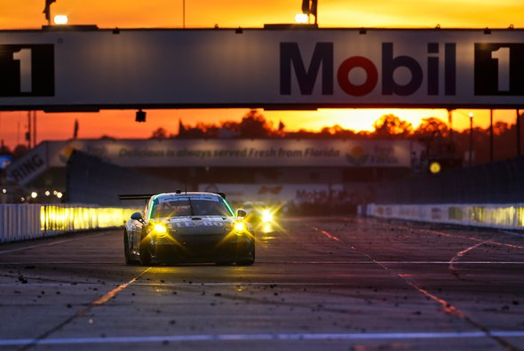 Marco Seefried erlebte kein Happy End in Sebring - Foto: Sean Heckman