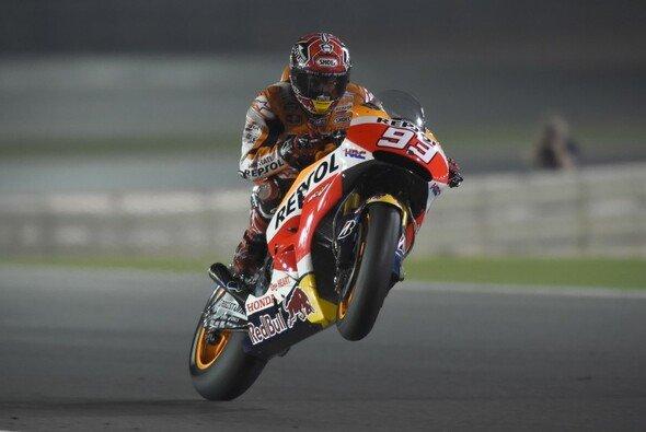 Marc Marquez sprang im MotoGP-Warm-Up zurück an die Spitze des Feldes - Foto: Repsol Honda