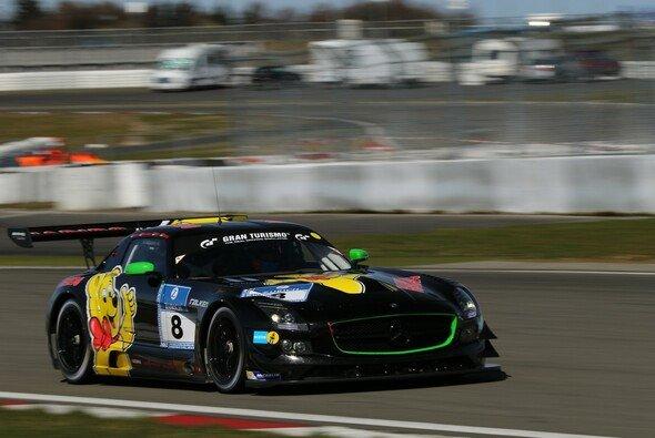 Der Haribo-Mercedes startet beim 24-Stunden-Rennen - Foto: Patrick Funk