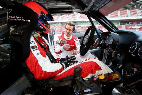 Seine Dienste sind bei Audi sehr gefragt: Markus Winkelhock ist eine der Ingolstädter Speerspitzen in Spa - Foto: Audi
